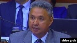 Депутат мажилиса парламента Казахстана Азат Перуашев.