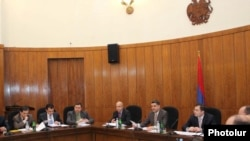 Հայաստան -- Կառավարության նիստ