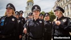 Церемонія складання присяги першими поліцейськими України. Київ, 4 липня 2015 року