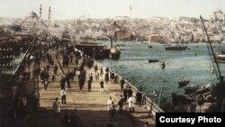 Фрагмент старой открытки, Стамбул