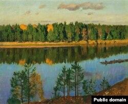 Станіслаў Жукоўскі. «Восень над Нёманам» (1931)
