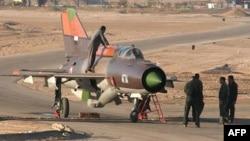 МиГ-21 на вооружении сирийской армии. Июнь 2012 года