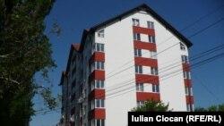 Bloc de locuinţe la Chişinău