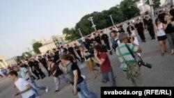 "акция ""молчаливого протеста"" в Минске 20 июля"