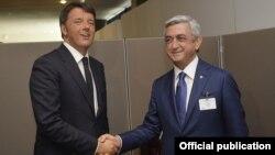 Հայաստանի նախագահի և Շվեդիայի վարչապետի հանդիպումը, Նյու Յորք, 28-ը սեպտեմբերի, 2015թ․