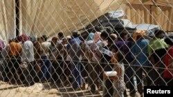 Сириски бегалци во Јордан.