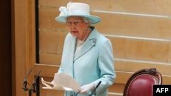 Каралева Вялікай Брытаніі Лізавета