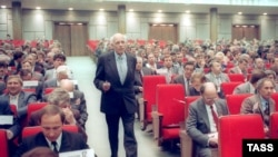 Andrei Sakharov in the Congress of People's Deputies of the Soviet Union