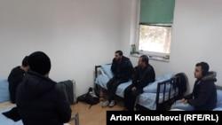 Qendra e azilkërkuesve në Vranidoll, Kosovë.