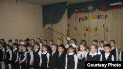 17нче татар гимназиясе укучылары, Казан.