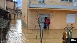 Поплави во источна Македонија.