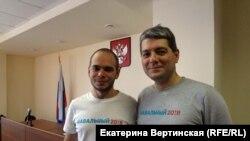 Иркутск, Захар Сарапулов и Сергей Беспалов в зале суда