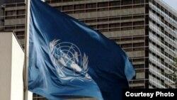 پرچم سازمان ملل متحد