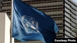 علم منظمة الأمم المتحدة