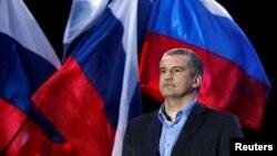 Кырымның Мәскәү яклы хөкүмәте башлыгы Сергей Аксенов