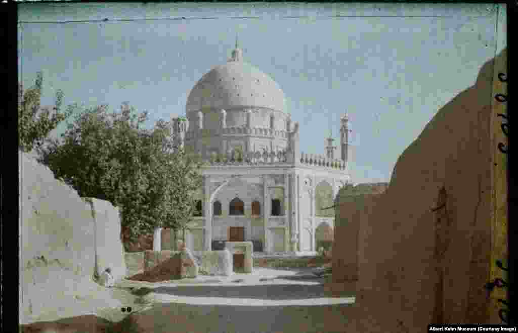 The tomb of Ahmad Shah Durrani, who is seen as the founder of the modern state of Afghanistan. The archives are packed with enthralling images of the world a century ago, but the photos of Afghanistan stand out for illustrating how drastically the country has changed.