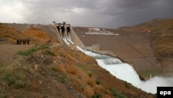 A general view of the Salma Dam in Herat Province (file photo)