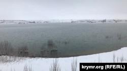 Белогорское водохранилище. Крым, 6 января 2019 года