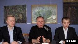 Віталь Рымашэўскі, Мікола Статкевіч, Зьміцер Дашкевіч