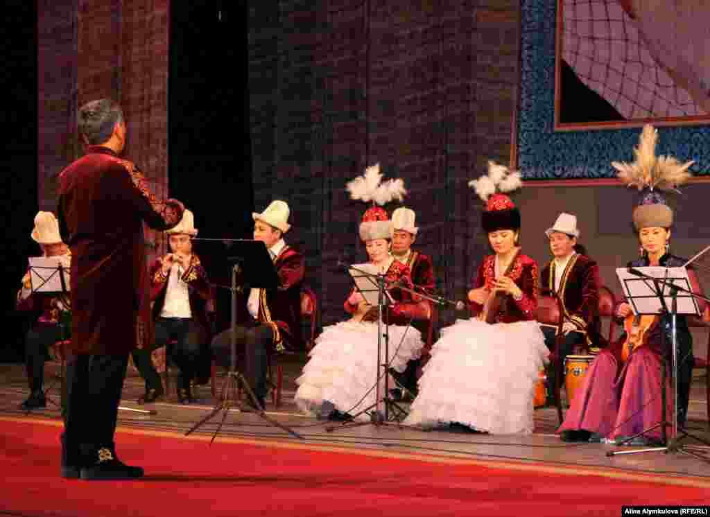 Выступление Филармонического камерного оркестра.
