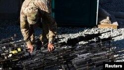 Echipament militar american în Afganistan