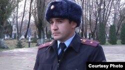 Майор полиции Хадис Асланбеков