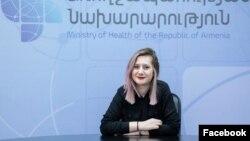 Пресс-секретарь министра здравоохранения Армении Алина Никогосян