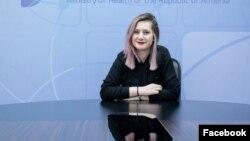Пресс-секретарь Министерства здравоохранения Алина Никогосян (архив)