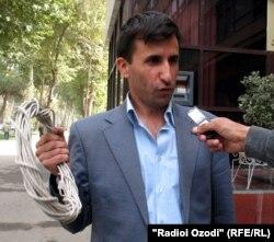 Фазлиддин Асоев, хабарнигори тоҷик