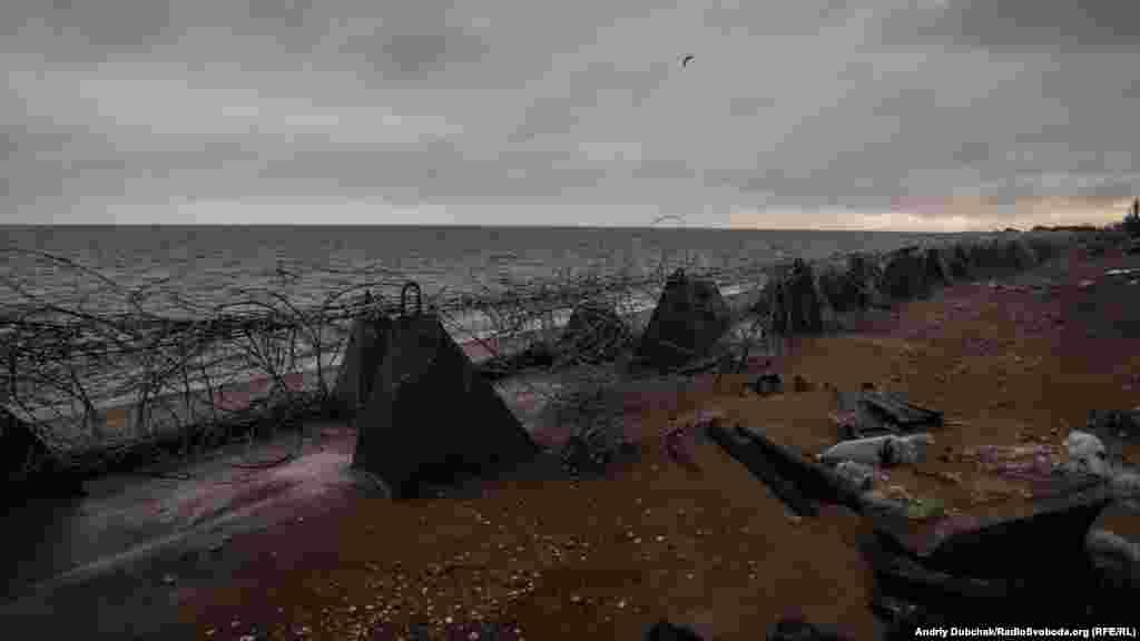 Узбережжя суцільно заміноване на випадок висадки ворожого десанту з моря