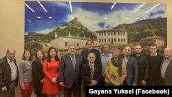 Встреча членов Меджлиса крымскотатарского народа с депутатами и активом политической партии Нидерландов D-66. Киев, 27 октября 2019 года