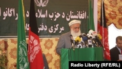 Амин Вакад, старший сотрудник Высшего Совета мира Афганистана. Кабул, 13 августа 2015 года.