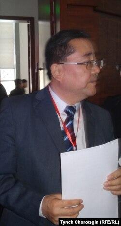 Профессор Мамбеттурду Мамбетакун уулу. 24.10.2015.