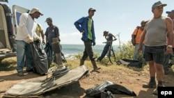 Обломки MH370 на острове Реюньон
