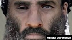 "Лидер движения ""Талибан"" Мулла Омар."