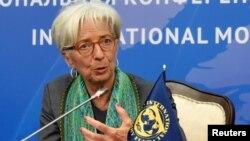 генералната директорка на Меѓународниот монетарен фонд Кристин Лагард