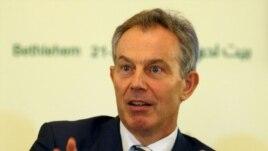 Former British Prime Minister Tony Blair