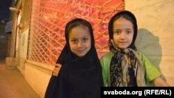 Маленькія мусульманкі зь Язду