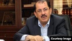 ناظم دباغ، نماینده اقلیم کردستان عراق در تهران