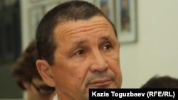 Мансур Давлетбакиев, отец заключенного Эдуарда Давлетбакиева. Алматы, 23 июня 2011 года.