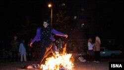 چهارشنبه سوری،زمانی برای راندن ناپاکی و بدی