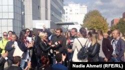 Aksioni protestues i AGK-së në Prishtinë