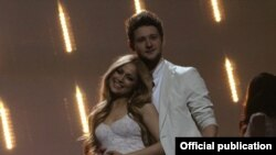 Germany - Ell&Nikki, the winners of Eurovision Song Contest in 2011
