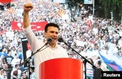 Зоран Заєв, лідер Соціал-демократичного союзу Македонії