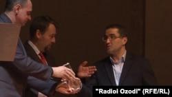 Церемония вручения премии «Homo Homini» в Праге