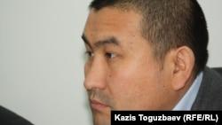 Адвокат Амангельды Шорманбаев. Алматы, 20 декабря 2012 года.