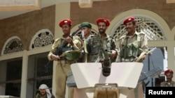 Припадници на воената полиција на јемен.