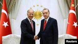 Joseph Biden i Recep Tayyip Erdogan, Ankara, 24. avgust 2016.