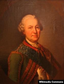 Генерал-фельдмаршал Бурхард Кристоф фон Миних (1683-1757). Неизвестный художник
