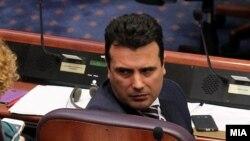 Зоран Заев во Собрание